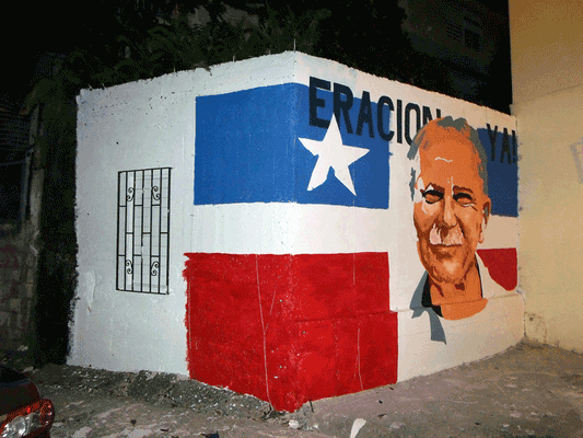 UPR Students create Holiday Mural as present for Oscar López Rivera