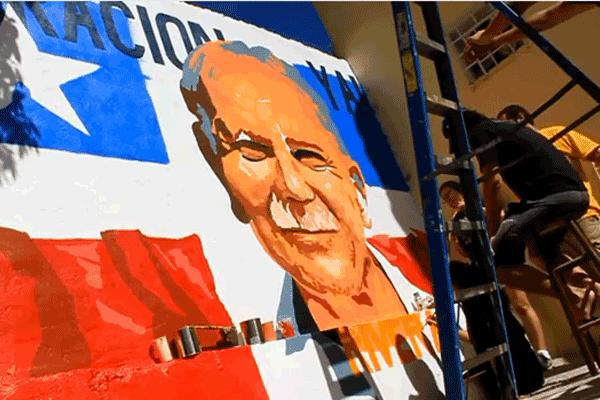 Video of OLR mural in Puerto Rico