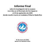 International investigation into death of Filiberto Ojeda Ríos