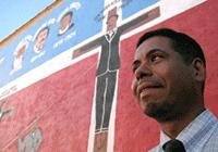 """""""La Crucifixción de Don Pedro"""" Mural restored"""