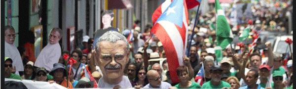Marchan por la liberación de Oscar López Rivera