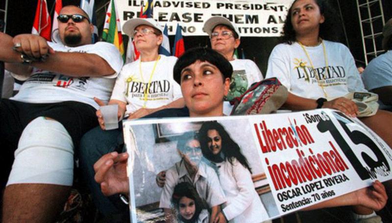 Exigen excarcelación de Oscar López Rivera, luego de 35 años preso en EEUU