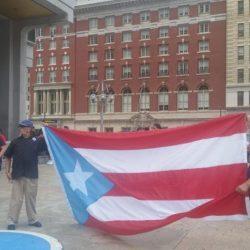 Diáspora exige excarcelación de Oscar López Rivera en Filadelfia
