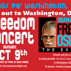 Gutierrez says:  Obama #Free Oscar Lopez Rivera Now - Support Oct. 9 Unity Event In D.C.