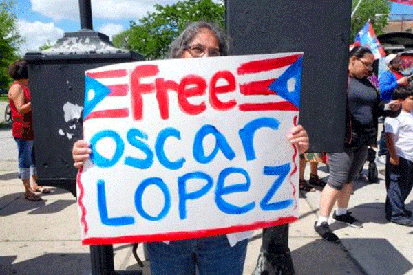 Urge excarcelar al preso boricua Oscar López