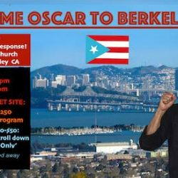 MAY 31, 2017 - SF, BAY AREA - Welcoming Oscar Lopez Rivera - NEW VENUE!