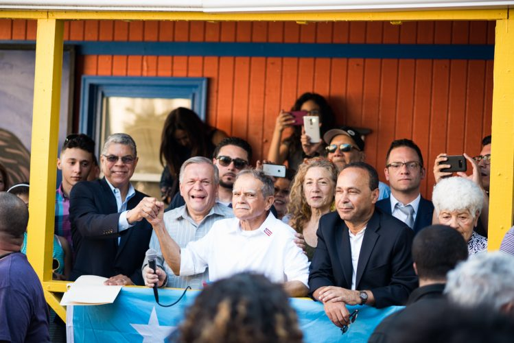 Oscar López Rivera returns home to Chicago – and to a movement