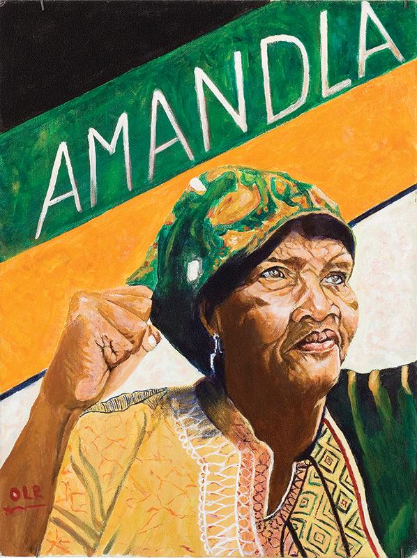 Amandla! Winnie Mandela