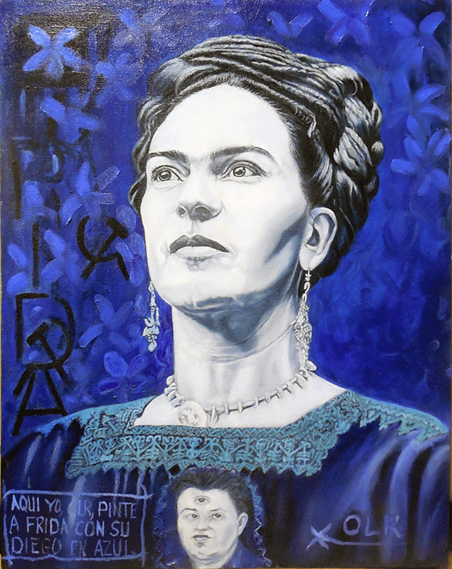 Frida (Blue)